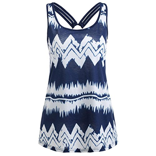 Sikye-Ladies-Womens-Casual-Chevron-Printed-Ring-Bandage-Sleeveless-Tunic-Tank-Top-Camisole-Tee-0