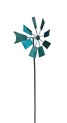 Small-Garden-Windmill-Blue-Color-Metal-Material-Ideal-For-Any-Garden-Spinning-With-The-Help-Of-The-Wind-Sturdy-And-Durable-Construction-Ideal-And-Stylish-Design-Small-And-Practical-E-Book-0