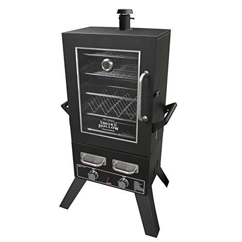 Smoke-Hollow-PS4415-Pro-Series-Propane-Smoker-33-x-245-x-60-Black-0-0