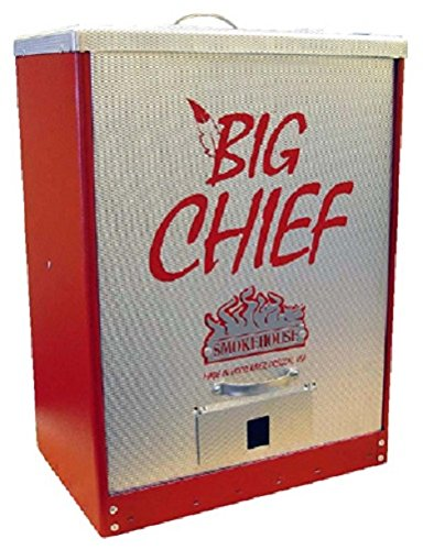 Smokehouse-Big-Chief-9894-RED-Tuff-Coat-Electric-Front-Load-Meat-Smoker-0