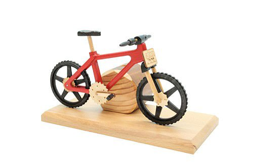 Smoker-Bicycle-EBM-Red-20x9x14-cm-9x4x6-inch-0