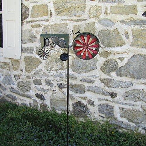 Solar-LED-Light-Garden-Tractor-Wind-Spinner-0-0