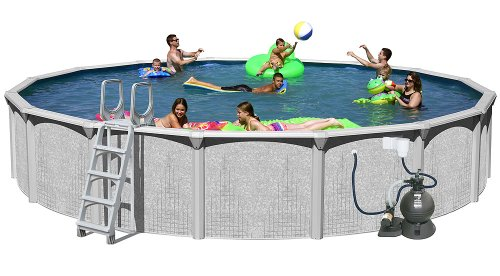 Splash-Pools-Above-Ground-Round-Pool-Package-18-Feet-by-52-Inch-0