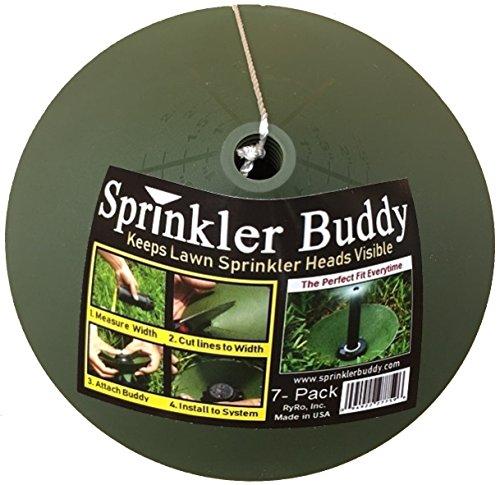 Sprinkler-Buddy-7-Pack-Cut-to-Fit-Sprinkler-Donuts-Sprinkler-Guards-for-pop-up-Sprinkler-Heads-Made-in-USA-0