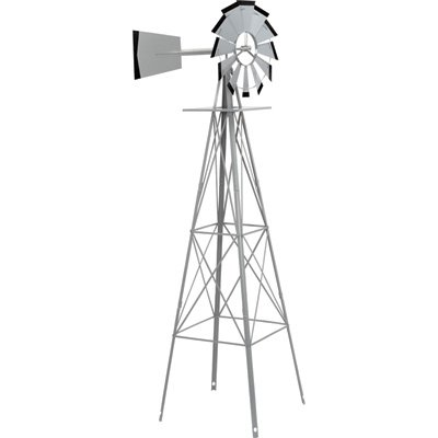 Strongway-Ornamental-Windmill-8ft-Tall-0