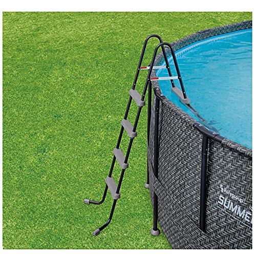 Summer-Waves-20-x-48-Elite-Frame-Wicker-Print-Above-Ground-Swimming-Pool-Set-0-2