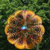 Sunnydaze-12-Inch-Reflective-Gold-Dust-3D-Whirligig-Wind-Spinner-Options-Available-0-0