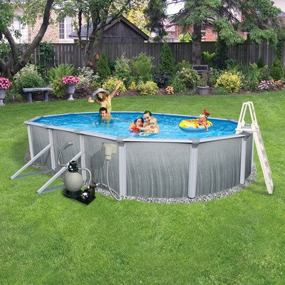 Swim-Time-Martinique-Oval-52-Inch-Deep-7-Inch-Top-Rail-Metal-Wall-Swimming-Pool-Package-0