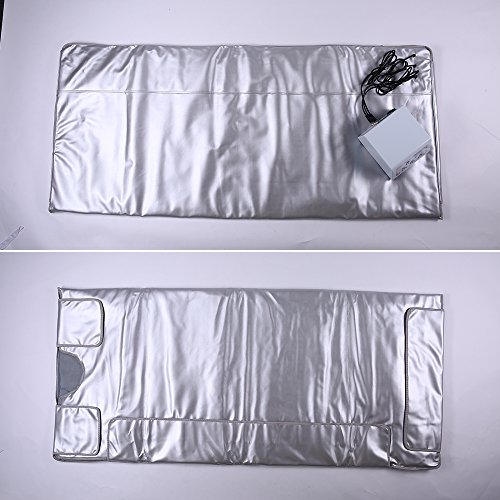 TTLITE-Digital-Far-Infrared-FIR-Heat-Sauna-Blanket-with-3-Zone-Controller-Weight-Lose-Health-Care-0-0