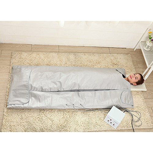 TTLITE-Digital-Far-Infrared-FIR-Heat-Sauna-Blanket-with-3-Zone-Controller-Weight-Lose-Health-Care-0-2