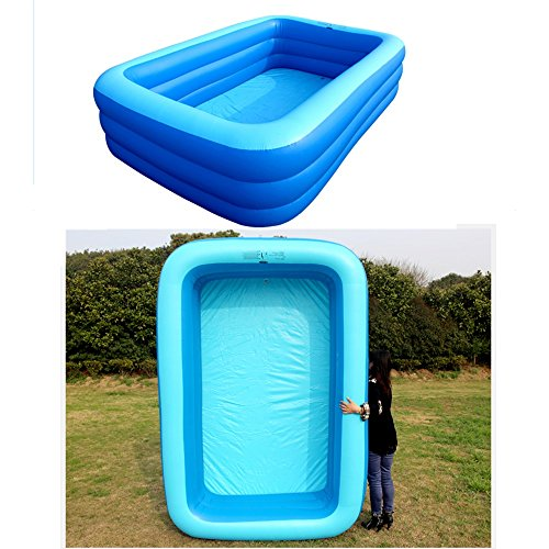 TYCGY-Childrens-Inflatable-Pool-Square-Pool-Adult-Bathtub-Heightening-Family-Pool-Infant-Childrens-Tub-Extra-Large-0-1
