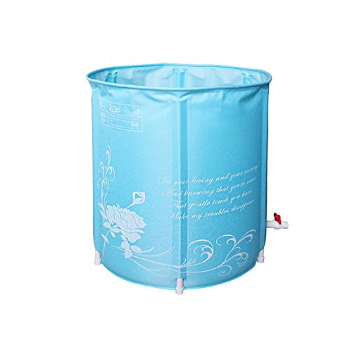TYCGY-Inflatable-Bathtub-Environmental-Protection-Folding-Bath-Bucket-Bucket-Adult-Children-Bath-Barrel-Bath-Bucket-Send-Sponge-Pad-0