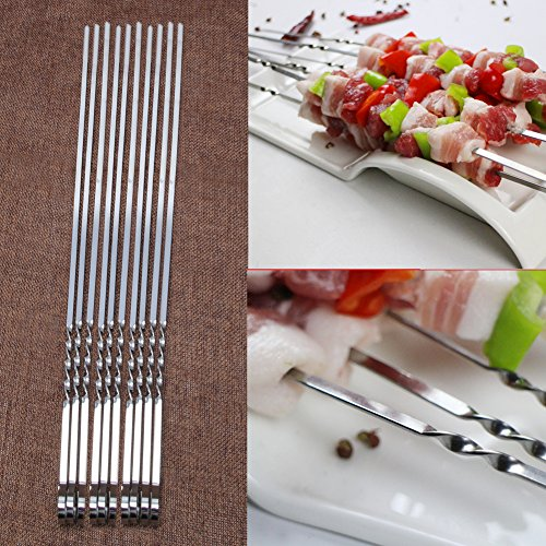 Tebatu-10-Pcs-Stainless-Steel-Flat-Meat-Skewers-For-Outdoor-BBQ-Barbecue-0-0