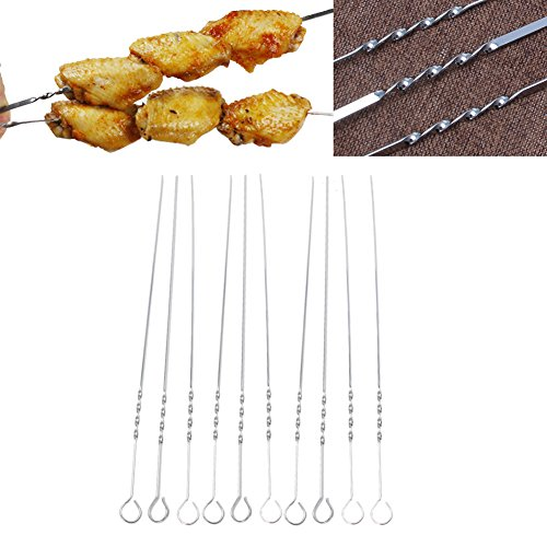 Tebatu-10-Pcs-Stainless-Steel-Flat-Meat-Skewers-For-Outdoor-BBQ-Barbecue-0-1
