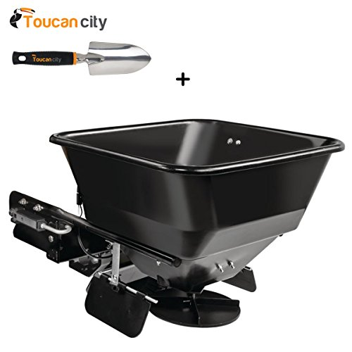 Toucan-City-3-in-Softouch-Hand-Trowel-and-Cub-Cadet-FastAttach-Electric-Spreader-for-XT-Series-Lawn-Tractors-19A30028100-0
