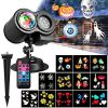 Upgraded-Version-Xmas-Halloween-Projector-LightTECKCOOL-3D-LED-Projector-with-Water-Wave-Light12-SlidesWaterproof-IP44Perfect-Gift-for-ChristmasHalloweenHolidayPartyLawnYardGarden-etc-0