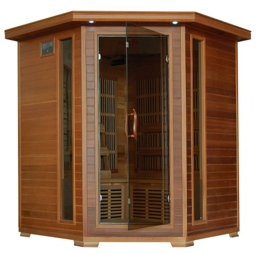 Whistler-4-Person-Corner-Cedar-Heatwave-Sauna-Free-Shipping-0
