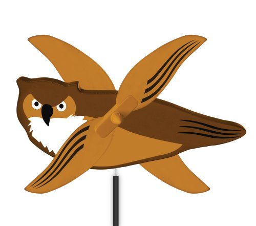 WindNSun-WhirlyGig-Outdoor-Animated-Decor-Owl-0
