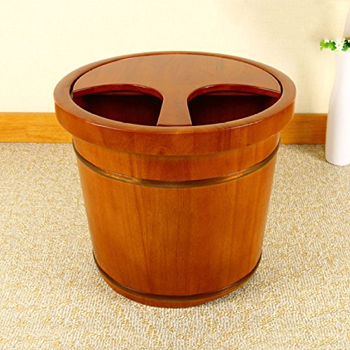 YIHANGG-Wooden-Foot-Tub-Home-Foot-Tub-Corrosion-resistant-Smooth-And-Delicate-Pedicure-Barrels-0-2