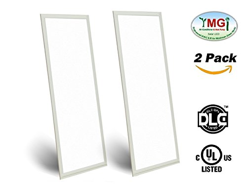 YMGI-LED-Panel-Light-1X4-FT-40W-120W-Equivalent3000K4000K-5000K-4000-Lumens-Dimmable-0-10v-100-277v-No-Flickering-DLC-Qualified-and-Lighting-Facts-Pack-of-2-4000k-Natural-White-0