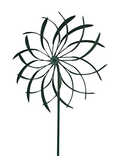 Zeckos-18-in-Metal-Garden-Stake-Flower-Wind-Spinner-Sculpture-0