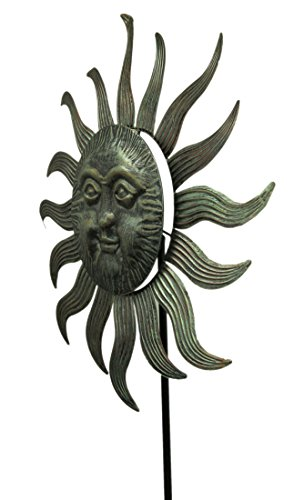 Zeckos-77X27-Metal-Sun-Face-Spinner-0-0