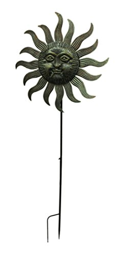 Zeckos-77X27-Metal-Sun-Face-Spinner-0